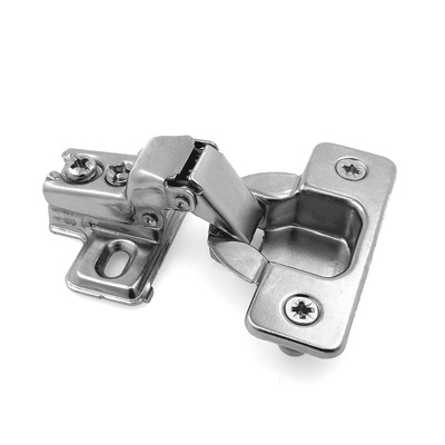 35mm 105 Degree 1/2 in. Overlay Compact Short Arm Concealed Hinge w ...