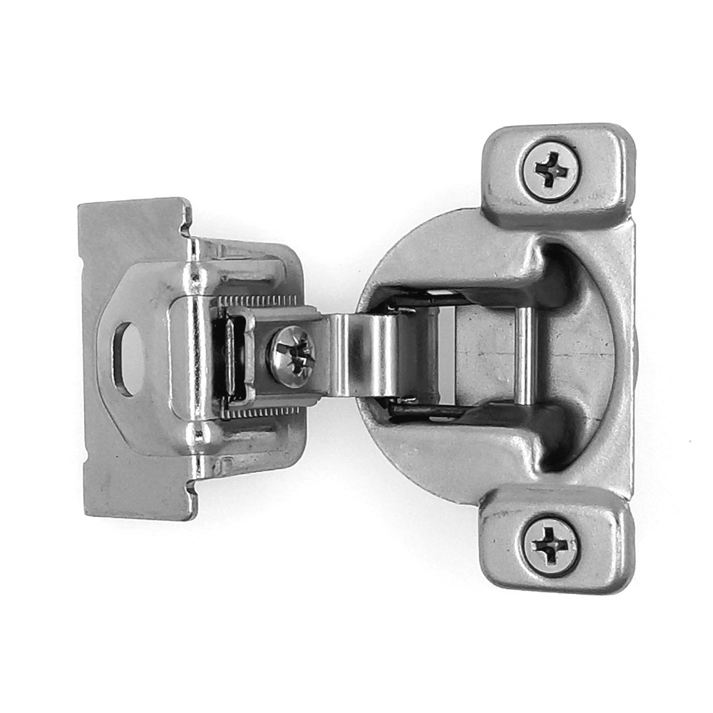 "2pc 105° 1-7/16"" Overlay Self Close Compact Hinge For Face"